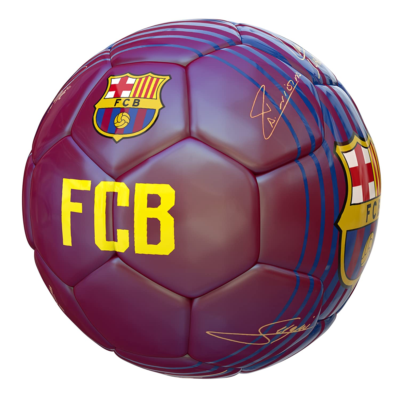 Balon FC Barcelona Primera Equipacion 17 18 Grana: Amazon.es ...