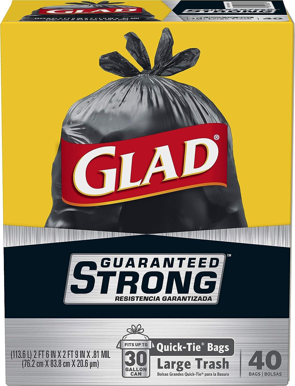 Amazon.com: Bolsas de basura grandes y resistentes con ...