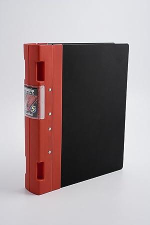 Guildhall Ergogrip Binder - Soporte para archivadores, rojo: Amazon.es: Oficina y papelería