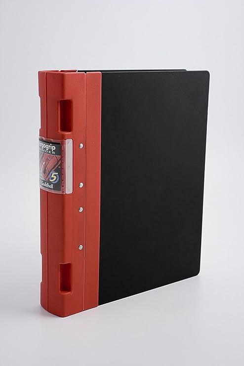 Guildhall Ergogrip Binder - Soporte para archivadores, rojo