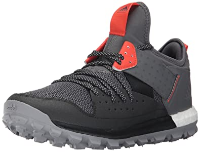 adidas Originals Mens Response Tr m Trail Running Shoe Black Grey Energy