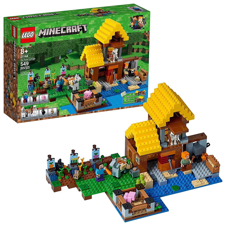 レゴ(LEGO) マインクラフト 畑のコテージ 21144 [並行輸入品]   B07J58MRNM
