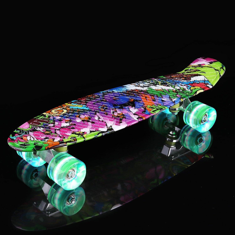 WeSkate Complete Mini Cruiser Skateboard - 4