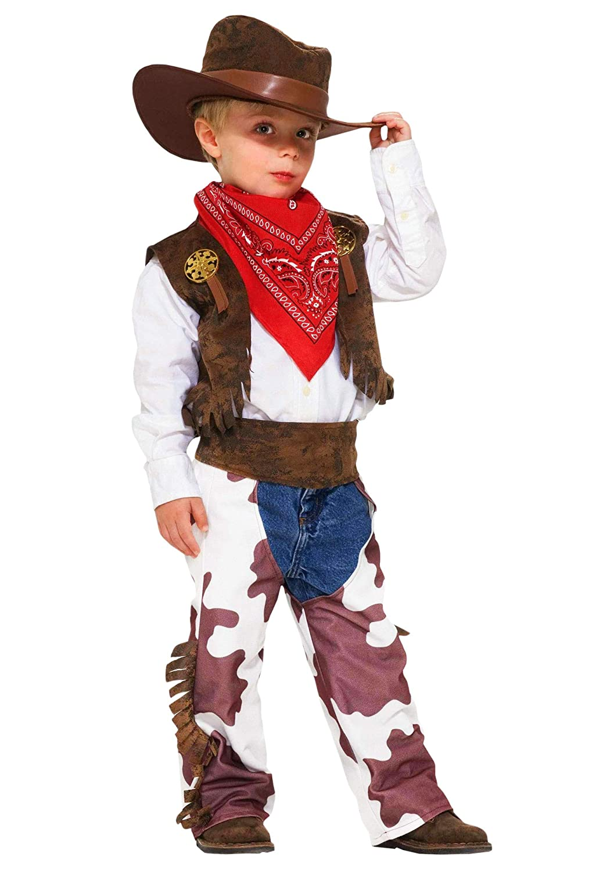 987d7636fbe6f Forum Novelties Cowboy Kid Costume, Toddler Size