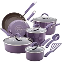 Rachael Ray 16783 Cucina Cookware Set, Lavender