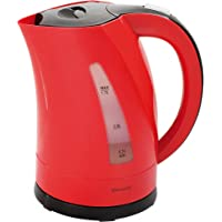 Domoclip DOM298RN Bouilloire Bicolore rouge/noir 1,7 L 1,7 Litre, 2200