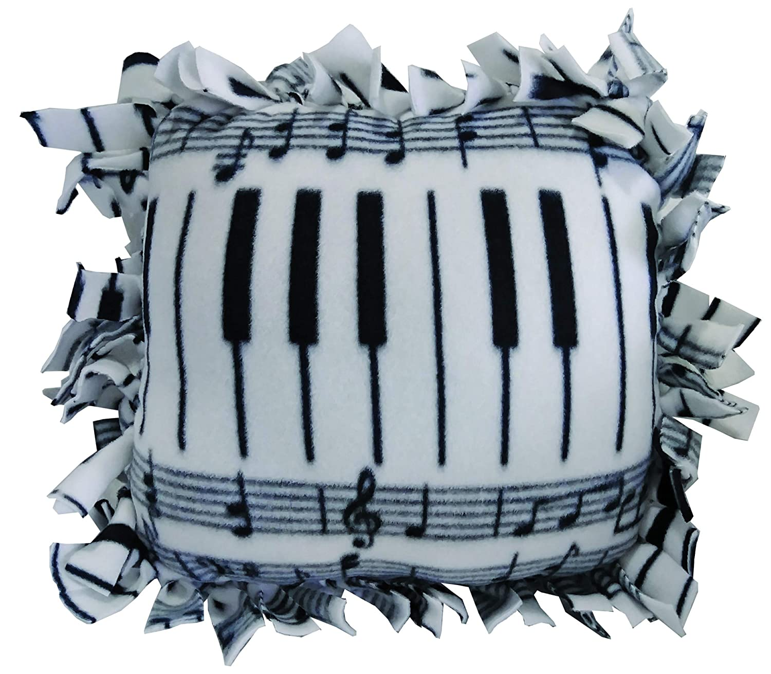 Girls and Boys DADM DIY Personalized No-Sew Piano Pillow SelfME Pillow Craft Kit Craft Project for Kids and Adults