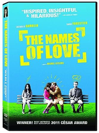 Amazon com: The Names of Love: Michèle Moretti, Sara Forestier