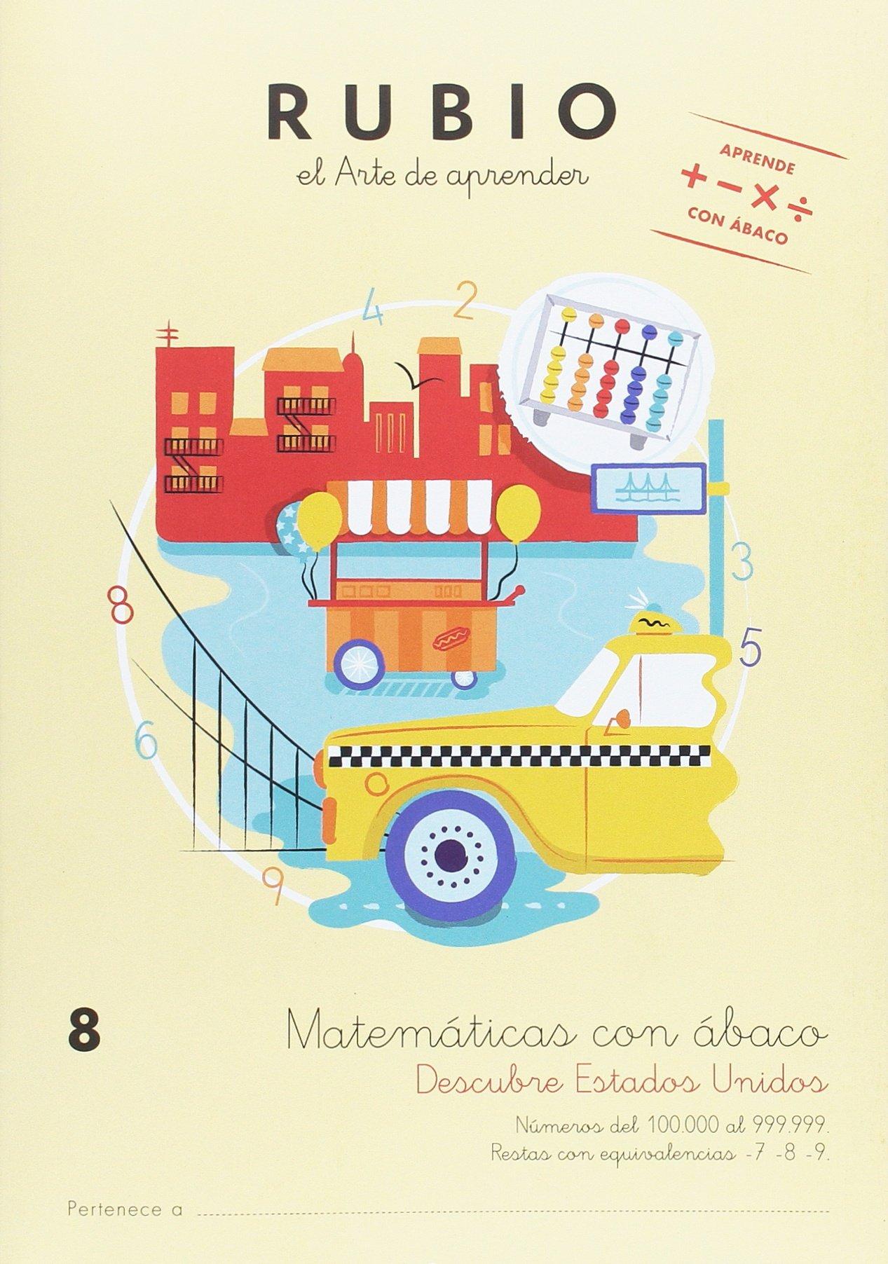 MATEMÁTICAS CON ÁBACO 8: Amazon.es: S.L.U. ENRIQUE RUBIO POLO: Libros