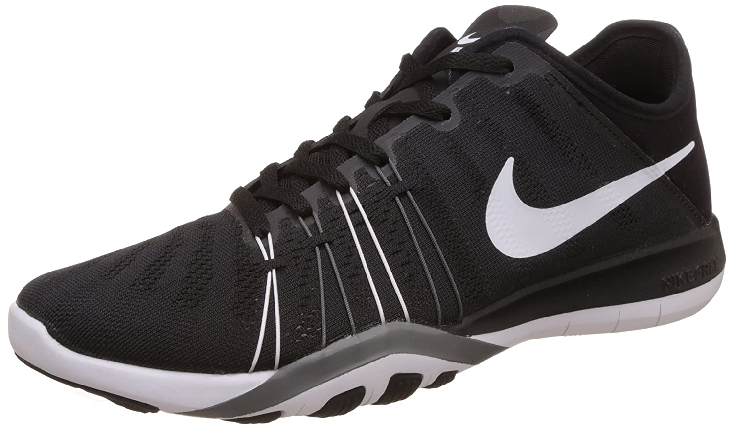 Womens Nike Free TR 6 Training Shoes B014GNBTJ2 9.5 B(M) US|Black/Cool Grey/White