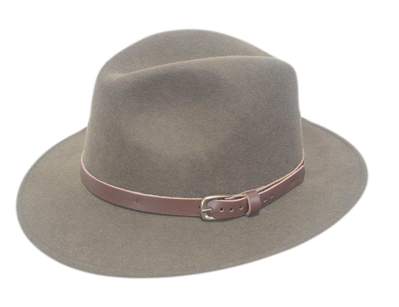 bf4fb4fd City Sport - Fine Felt - Hillstone Hat (56, Green): Amazon.co.uk: Clothing