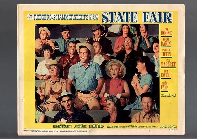 Amazon com: MOVIE POSTER: STATE FAIR-1962-LOBBY CARD-MUSICAL