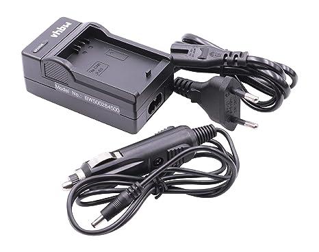 CARGADOR + CARGADOR PARA COCHE para CANON baterías LP-E5 para EOS450D EOS450 EOS500D EOS 450 450D D 500D EOS 500 1000 1000D EOS1000 EOS1000D D