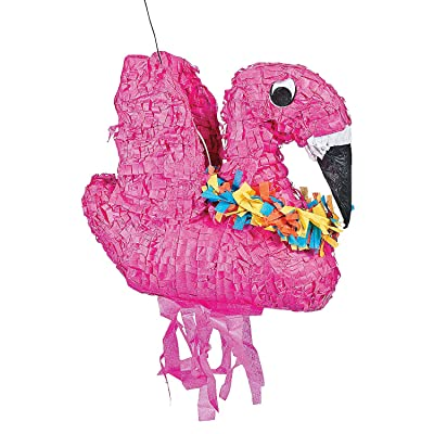Beach Party Flamingo Pinata for Luau Party: Toys & Games