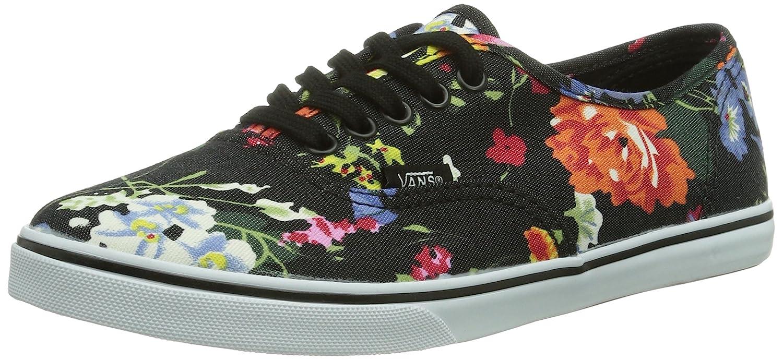 Vans U AUTHENTIC LO PRO (FLORAL) BLACK/Unisex-Erwachsene Sneakers