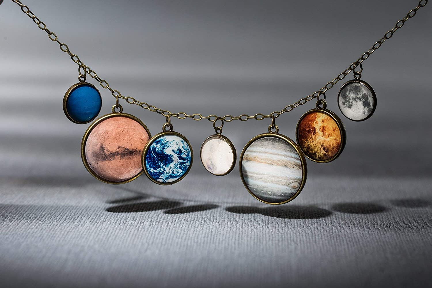 Little Planetarium Planets Universe Galaxy Necklace for Women Felicity Store Solar System