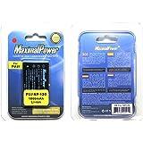 Camera Battery for PENTAX D-LI7 Fuji NP-120 Optio 450 550 555 750 750Z MX MX4