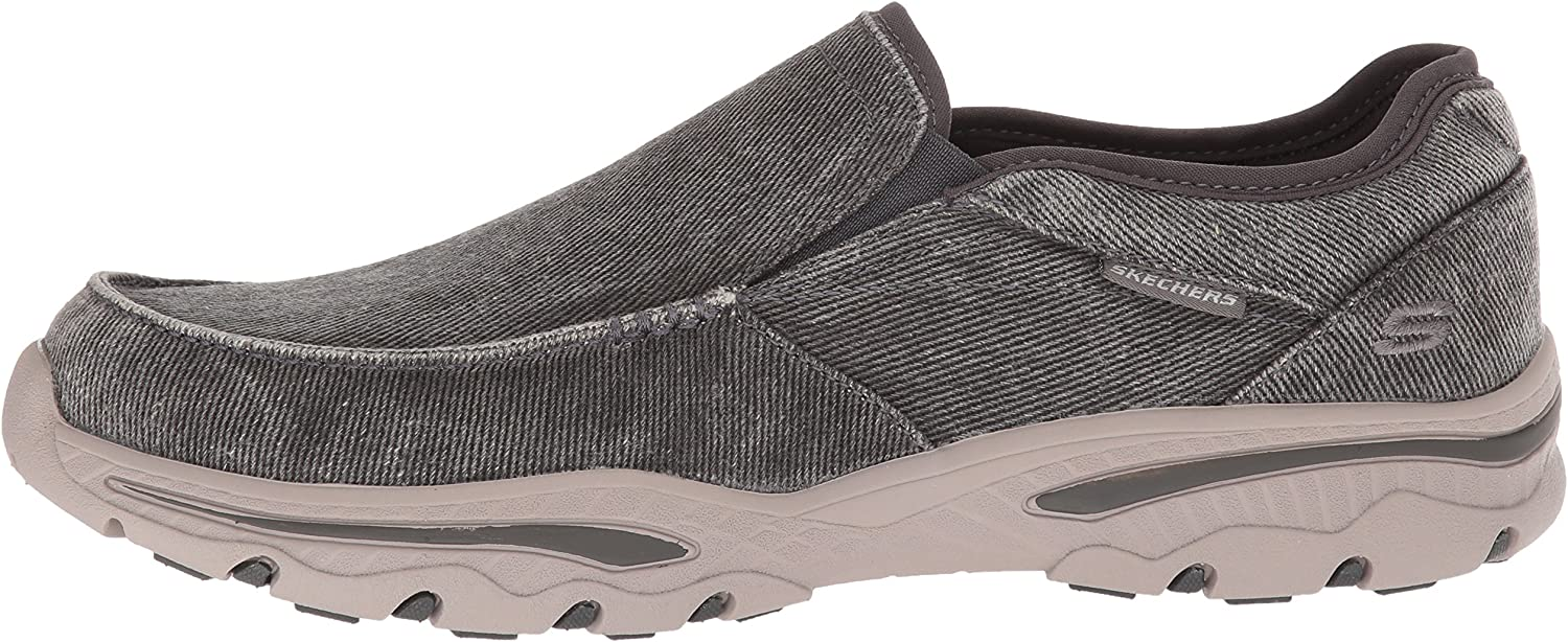 Skechers Mens Relaxed Fit-Creston-Moseco Moccasin
