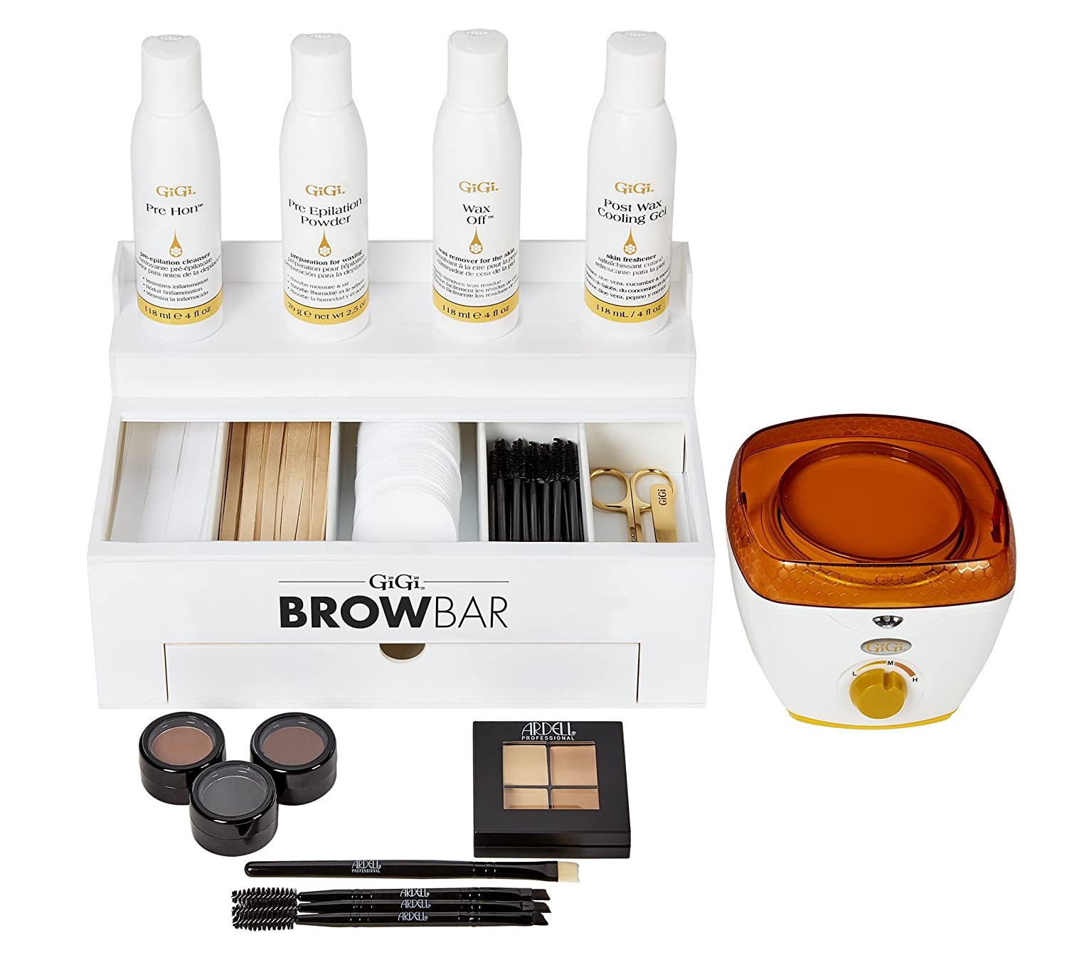 GiGi & Ardell Brow Bar Grooming System Kit Set 0111