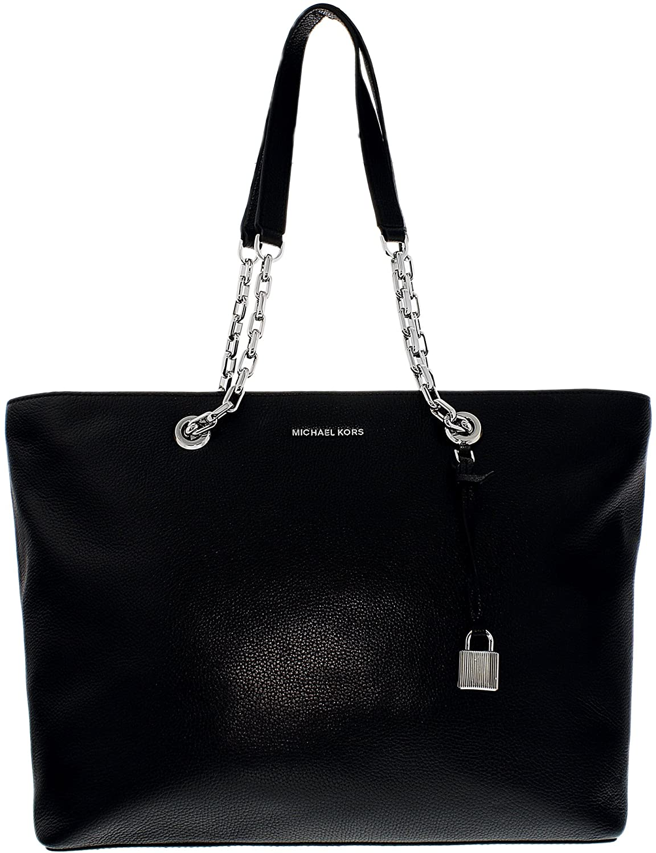 9d420dd0e37cb Amazon.com  Michael Michael Kors Mercer Medium Leather Shoulder Bag  Michael  Kors  Clothing
