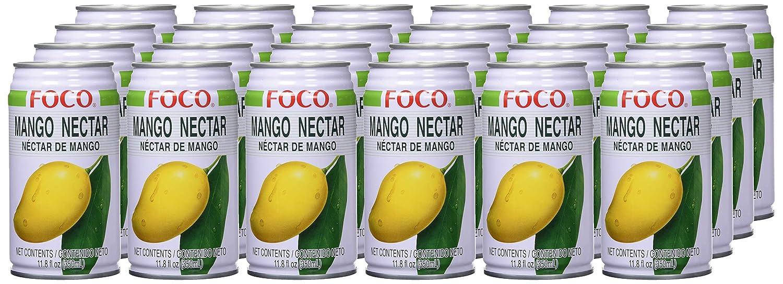 Foco, Zumo de fruta (mango) - 24 de 350 ml. (Total 8400 ml.): Amazon.es: Alimentación y bebidas