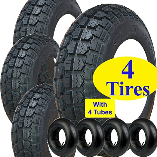 Protac TWO 4.00-8 400-8 4.80/4.00x8 480/400x8 TIRE KENDA ...