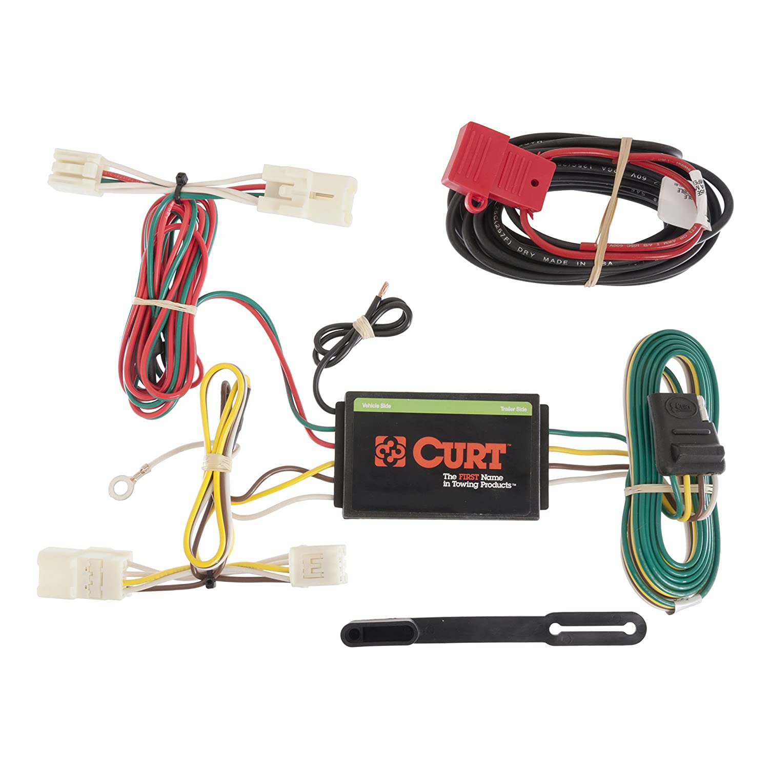 817l7jcQOtL._SL1500_ amazon com curt 56165 custom wiring harness automotive tow hitch wiring harness at gsmportal.co