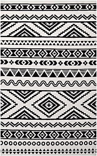 Modway Haku Geometric Moroccan Tribal 8×10 Area Rug