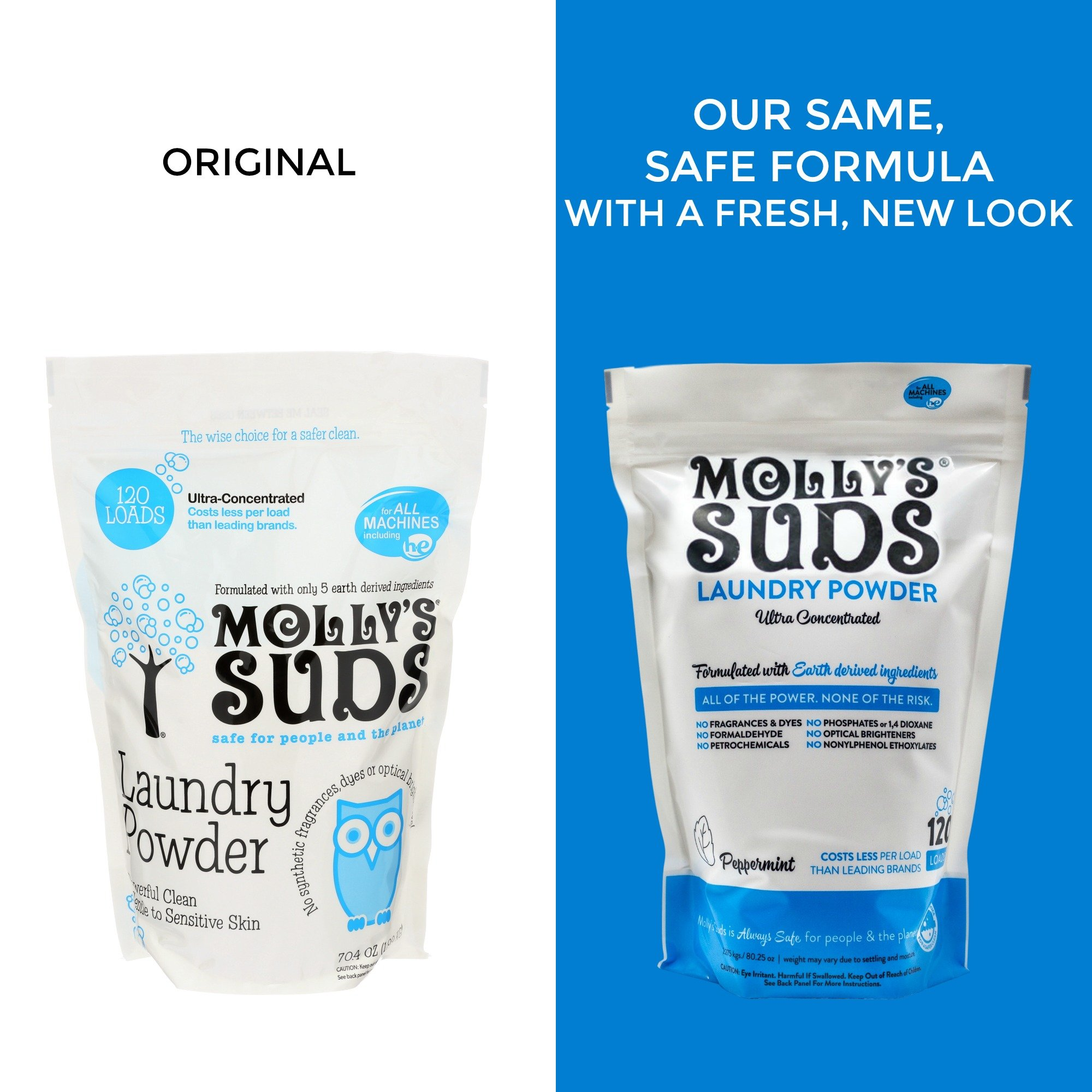 Molly's Suds Original Laundry Detergent Powder 120 load, Natural Laundry Soap for Sensitive Skin by Molly's Suds (Image #5)
