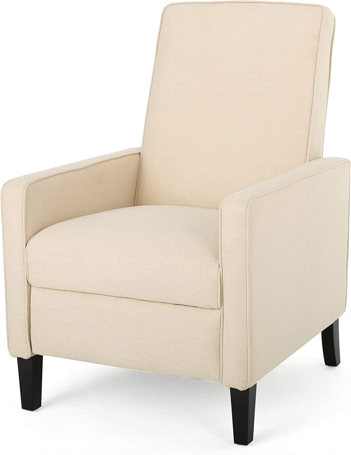 Christopher Knight Home Darvis Fabric Recliner, Beige