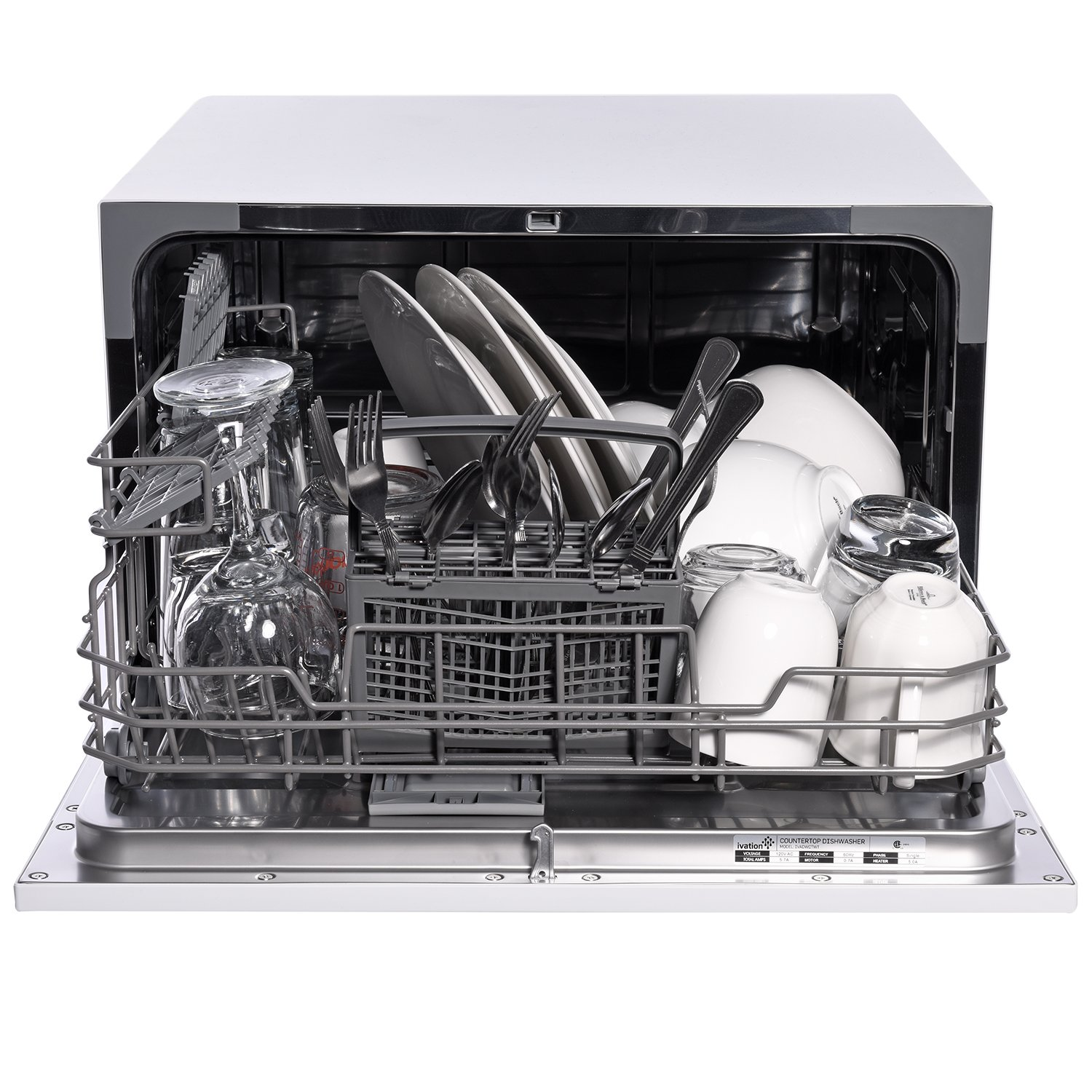 Amazon.com: Ivation Portable Dishwasher – Countertop Small Compact ...