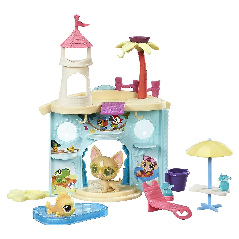 amazon com littlest pet shop splash park party toys u0026 games