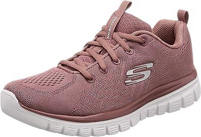 Pink Mesh Sneakers for Women 12615 MVE