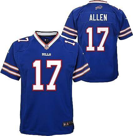 Buffalo Bills Josh Allen Youth Royal Blue Game NFL Football Jersey Multiple Sizes