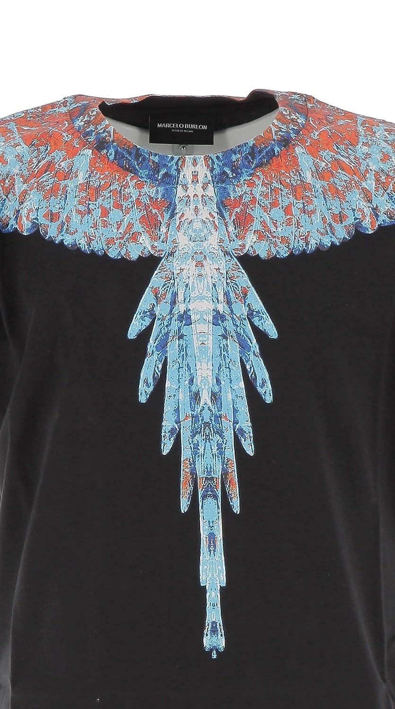 MARCELO BURLON KIDS OF MILAN Fall//Winter 2019 T-Shirt Big Wings Black 10A