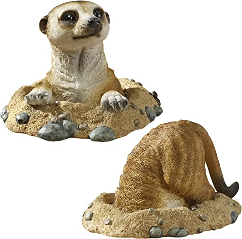 Design Toscano Kalahari Meerkat Garden Animal Statue