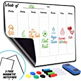 """Weekly Dry Erase Board Magnetic Calendar 