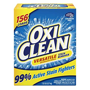 OxiClean Versatile Stain Remover, 7.22 Lbs (2 packs)