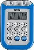 タニタ(TANITA)防水大音量 タイマー ブルー TD-377