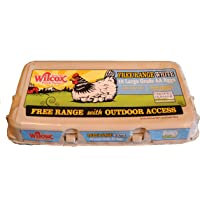 Wilcox Free Range Large White Eggs, 18ct