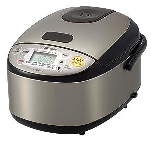 Zojirushi 604976-NS-LGC05XB NS-LGC05XB Micom Rice Cooker & Warmer, 11.9 x 9.1 x 7.5, Stainless Black
