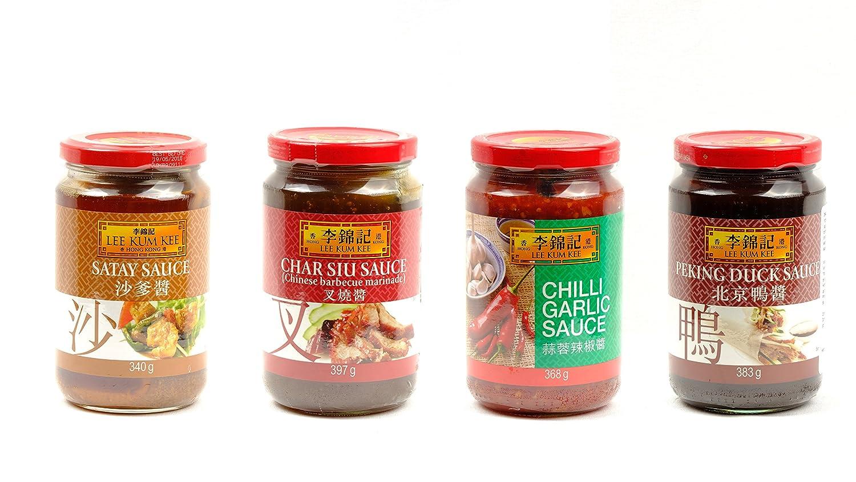 Lee Kum Kee Salsa de Satay, Salsa de Cacahuetes Estilo Satay Perfecto para Carnes 340g: Amazon.es: Alimentación y bebidas