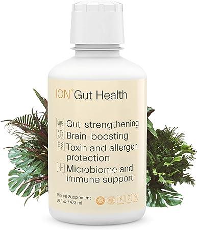 ION*Gut Health   Promotes Digestive Wellness, Strengthens Immune Function, Alleviates Gluten Sensitivity, Enhances Mental Clarity   1-Month Supply (16 oz.)