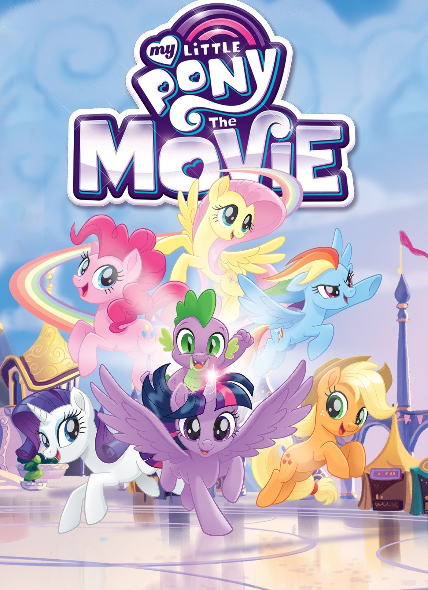 Amazon.com: My Little Pony: The Movie Adaptation (MLP The Movie) (9781684051168): Eisinger, Justin, McCarthy, Meghan, Hsiao, Rita: Books