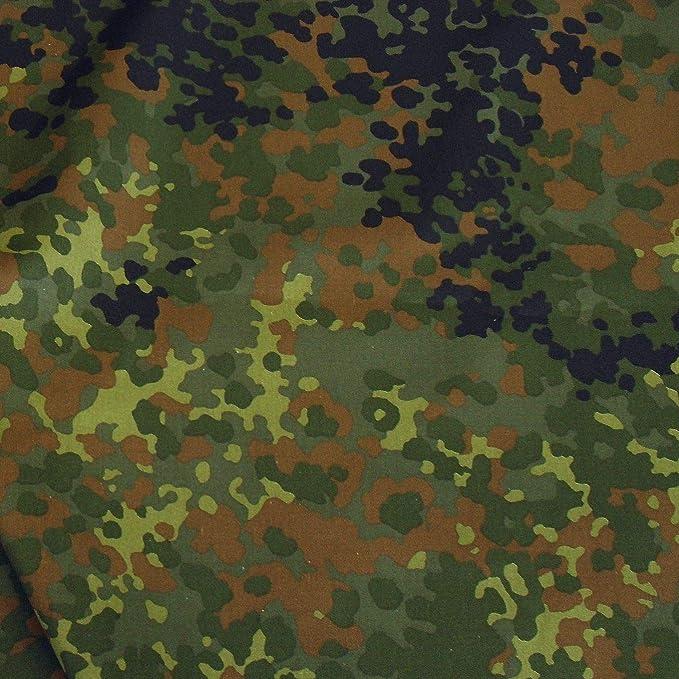 Ripstop Segeltuch Tarndruck als Meterware Schweden Camouflage-Stoff  Baumwoll