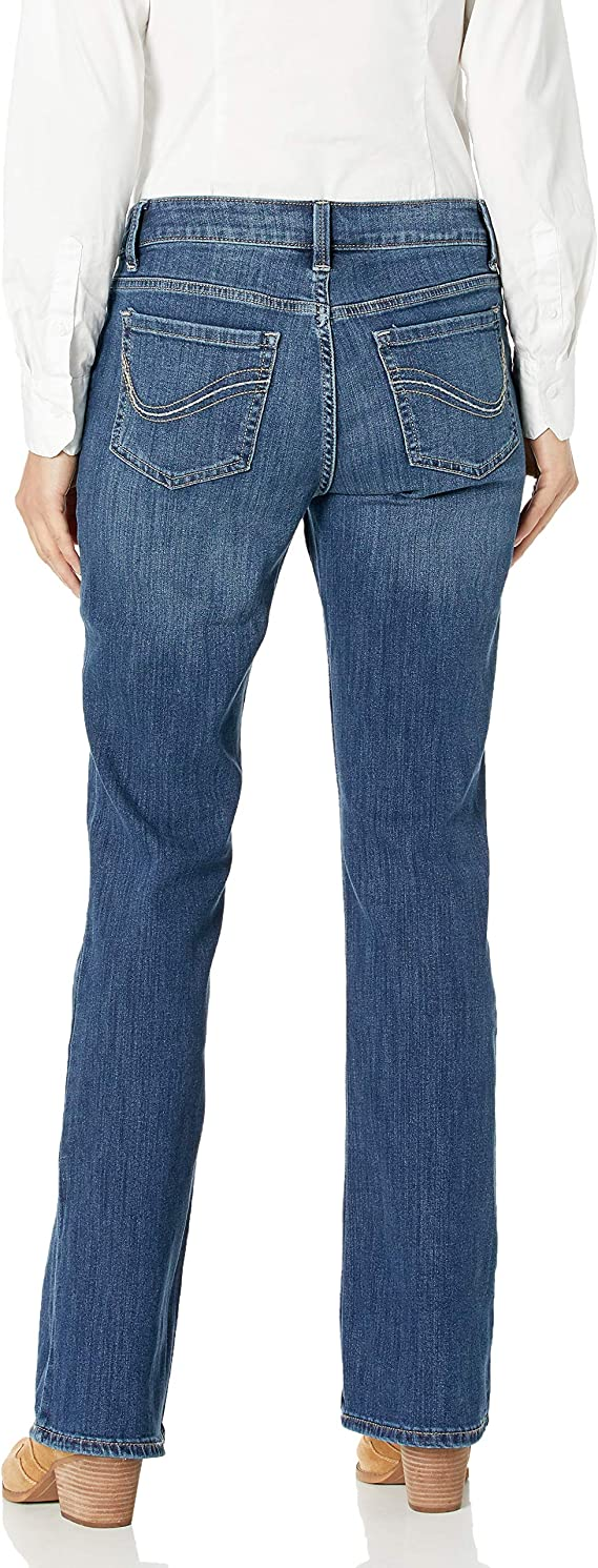Black 18WL Riders by Lee Indigo Womens Plus Size Camden Relaxed Fit 5 Pocket Jean