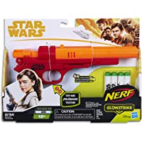 STAR WARS - Qi Ra NERF Blaster inc 4 Official Elite Darts - Kids Dress Up Toys - Ages 8+