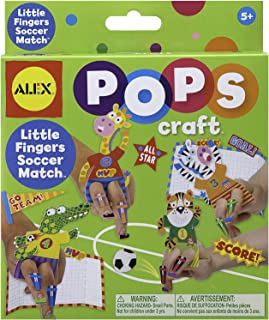 Alex Toys POPS Craft Little Fingers Soccer Match
