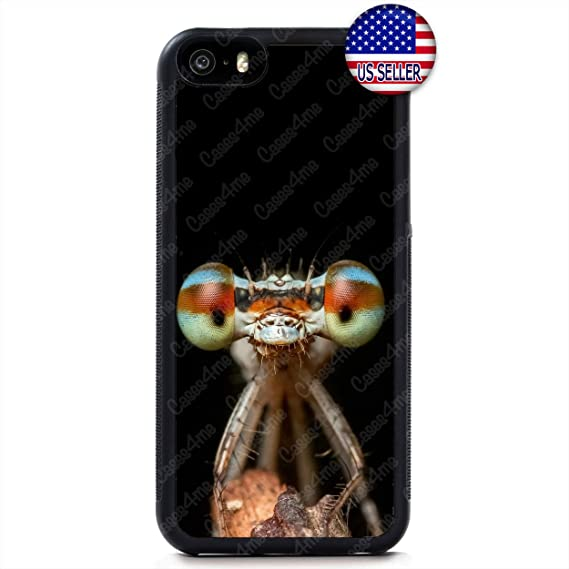 cheap for discount 631bc 80f8d Amazon.com: Funny Cute Dragonfly Green Cell Phone Case Slim ...