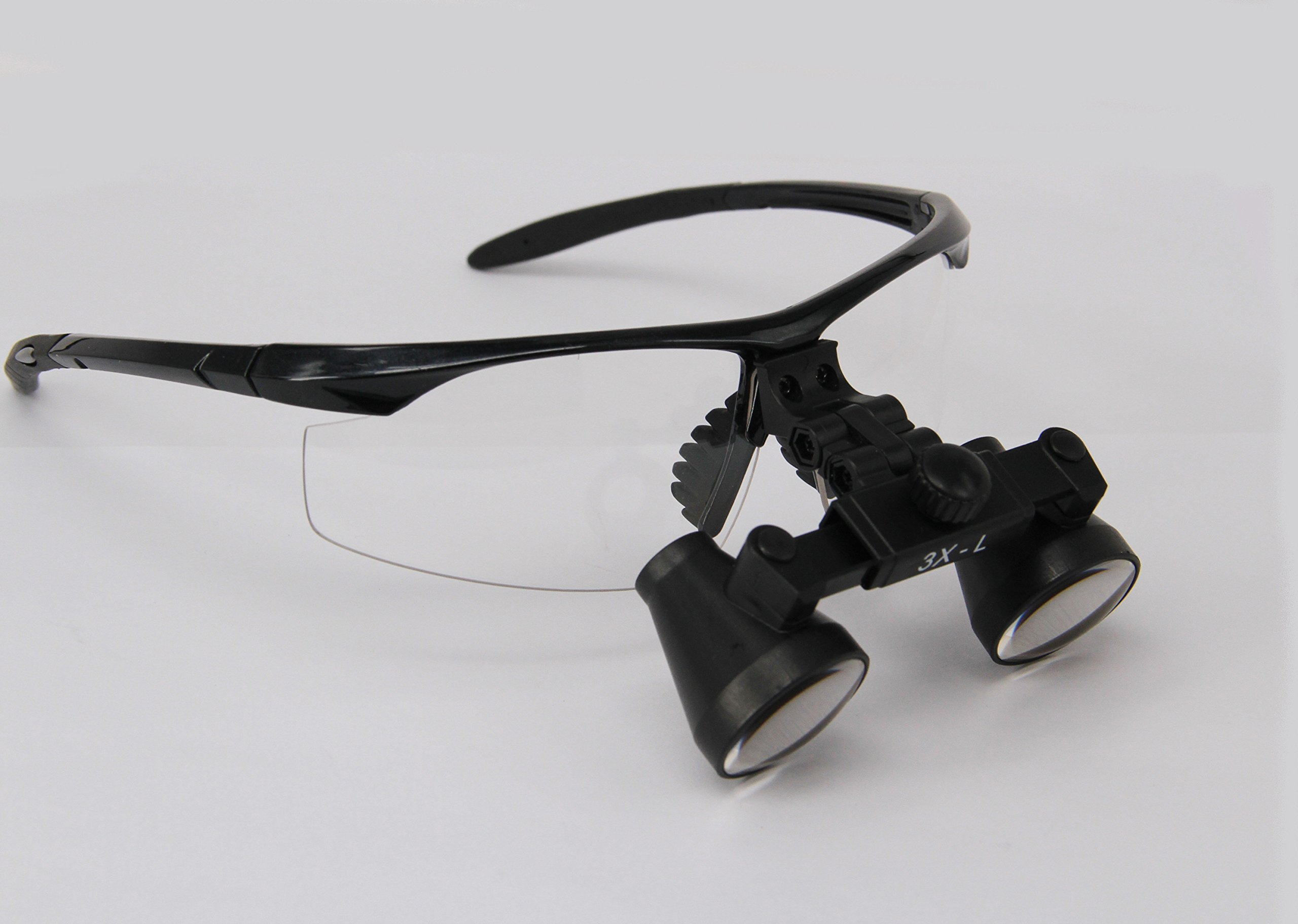 Ymarda Optics hot selling 3.0X Binocular Loupes Surgical Loupes (Black frame 3.0x Magnifier with different working distances) (R (360-460mm) with Black frame)